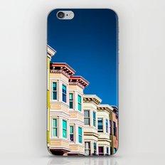 Colorful San Francisco 3 iPhone & iPod Skin