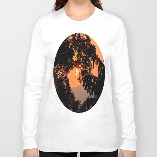 Creamsicle Moonlight Long Sleeve T-shirt