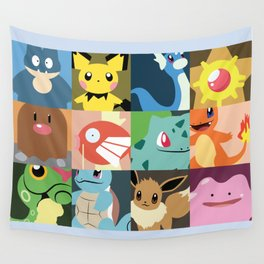 Pre Evo Collage Wall Tapestry