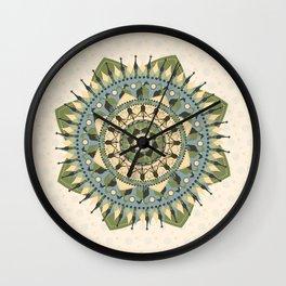 Mandala of Giraffes Wall Clock