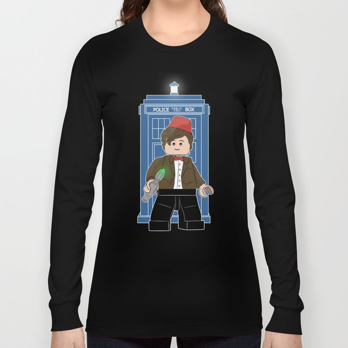The Doctor (Lego Doctor Who) Long Sleeve T-shirt