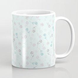 Peony Stalks Coffee Mug