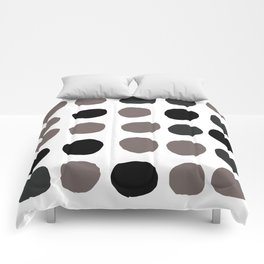 Dunkle Punkte 001 Comforters