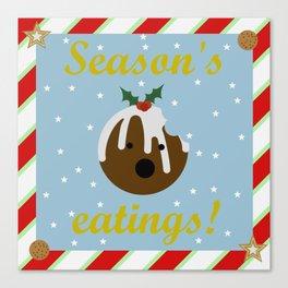 Season's eatings Canvas Print