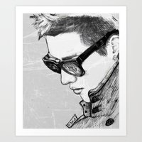 exo Art Prints featuring Kris (Wu Yifan) // EXO by BucketsofBroke