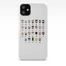 Horror Movies Alphabet iPhone Case
