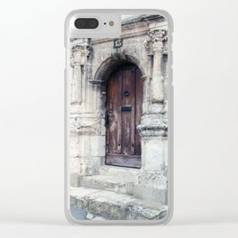 French Door Series, #4 - Châteaudun, France Clear iPhone Case