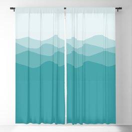 Mountains Blackout Curtain