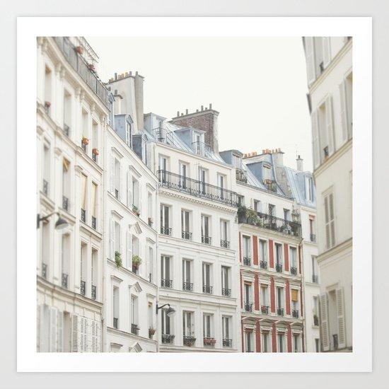 Good Morning, Paris Art Print
