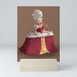 Let Me Eat Cake Mini Art Print