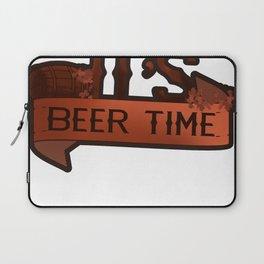 It's Beer Time Laptop Sleeve