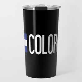 Colorado: Coloradan Flag & Colorado Travel Mug
