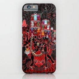 Mahajayakali & Mahaparabhairav iPhone Case
