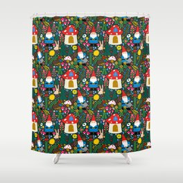 Gnome Home Shower Curtain