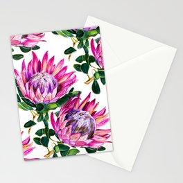 Protea study no.1 Stationery Cards