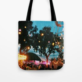 night ciircus Tote Bag