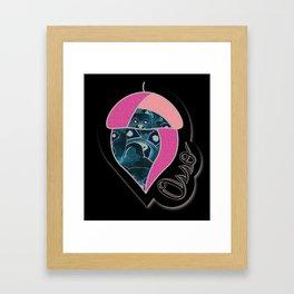 osso nut Framed Art Print
