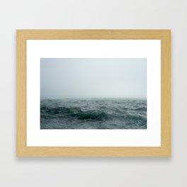 Choppy Seas Framed Art Print