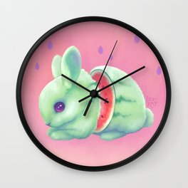 Sweeture: Watharemelon Wall Clock