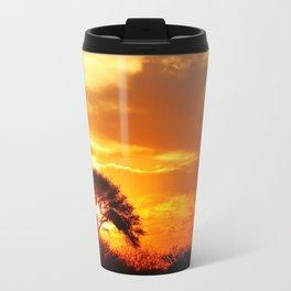 African sunrise Travel Mug