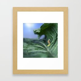 Kale Surf Framed Art Print