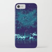 safari iPhone & iPod Cases featuring Cosmic Safari by dan elijah g. fajardo