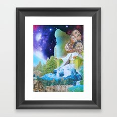 Prophecy of Intergalactic Understanding Framed Art Print