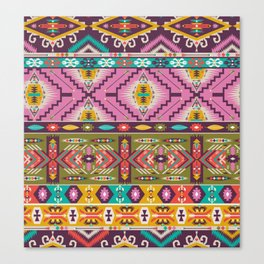 Ethnic Pattern Canvas Print