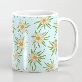 Edelweiss Pattern Coffee Mug