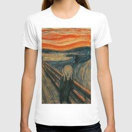Classic Art - The Scream - Edvard Munch T-shirt