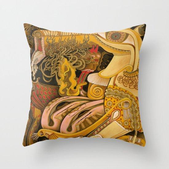 Purse Content Throw Pillow
