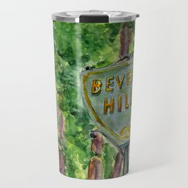 Beverly Hills Street Sign Travel Mug