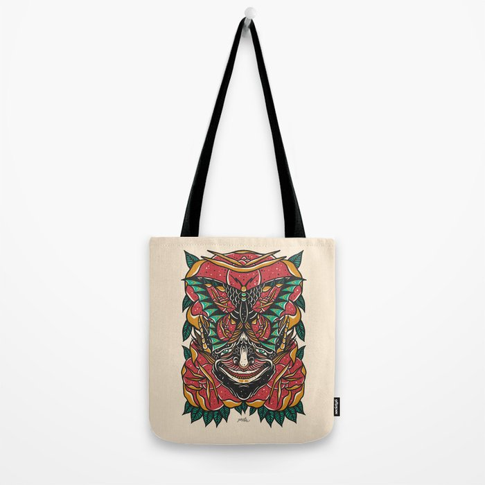 Butterfly Demon Tote Bag