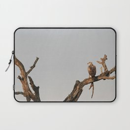 Hawk Eagle with its Catch Laptop Sleeve
