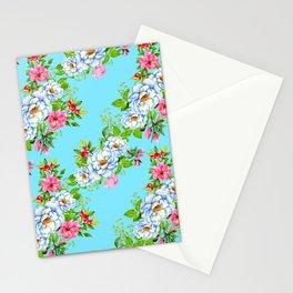 Vintage Floral Pattern No. 8 Stationery Cards