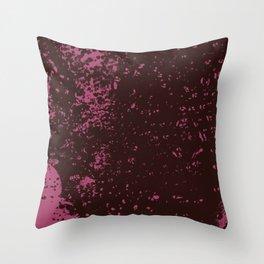 Water drops texture Throw Pillow