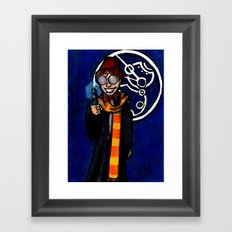 Doctor Harry Who Framed Art Print