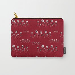 Ranunculus Pattern Carry-All Pouch