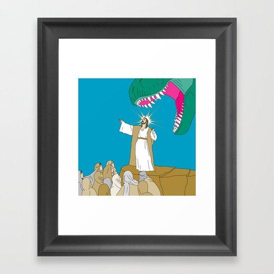 Jesus, Etc. Framed Art Print