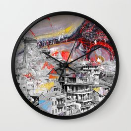 Tbilisi 3 Wall Clock