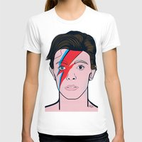 david bowie T-shirts featuring David Bowie by Alli Vanes