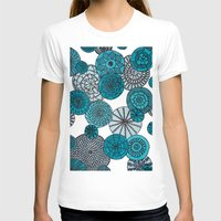 planets T-shirts featuring Blue Planets by sinonelineman