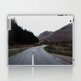 Road through the Glen Laptop & iPad Skin