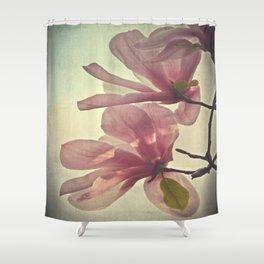 Magnolia Petals Shower Curtain