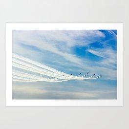 Reach for the Skies Art Print