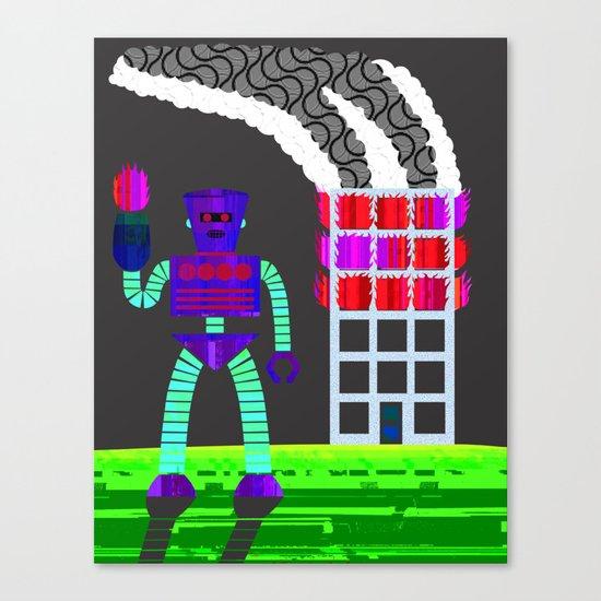 the arsonist Canvas Print
