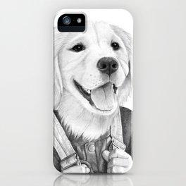 My Boy The Golden Retreiver iPhone Case
