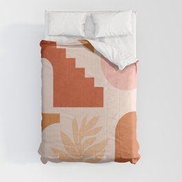 Abstraction_SHAPES_Architecture_Minimalism_002 Comforters