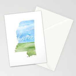 Mississippi Home State Stationery Cards