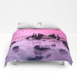 Pink Sky #5 Comforters